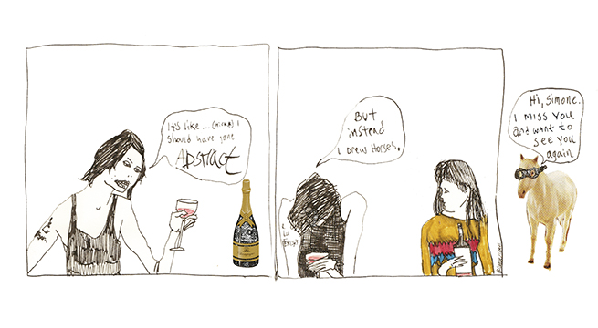 A comic by Bianca Stone and Simone Kearney